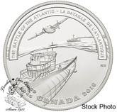 Canada: 2018 $20 Second World War Battlefront: The Battle of the Atlantic - 1 oz. Pure Silver Coin