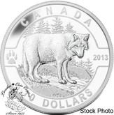 Canada: 2013 $10 The Wolf O Canada Series 1/2 oz Pure Silver Coin