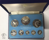 Belize: 1975 Proof Silver Coin Set (8 Coins)