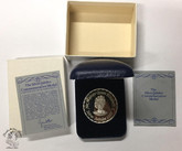 1977 Silver Jubilee Commemorative Silver Medal