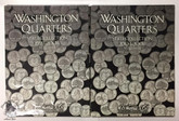 United States: 1999-2008 Washington Quarters State Collection (2 Volumes) Complete Set