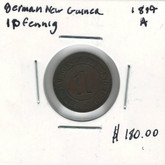 German New Guinea: 1894A 1 Pfennig