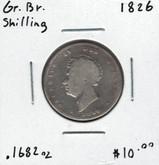 Great Britain: 1826 Shilling