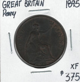Great Britain: 1895 Penny XF