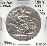 Great Britain: 1897 Crown LXI #2