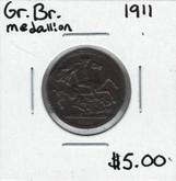 Great Britain: 1911 Medallion