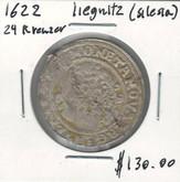 German States Silesia: 1622 24 Kreuzer Liegnitz