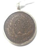 Lower Canada: City Bank 1837 Penny In Bezel