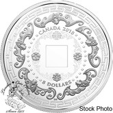 Canada: 2018 $8 Good Luck Charms:  Five Blessings Fine Silver Coin
