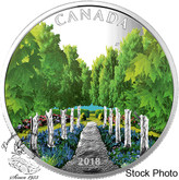 Canada: 2018 $20 Maple Tree Tunnel 1 oz. Pure Silver Coin
