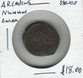 Roman Imperial: Nummus Arcadius 390-410AD