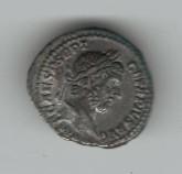 Roman Imperial: Geta Denarius 209-212AD