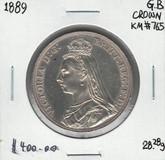 Great Britain: 1889 Crown