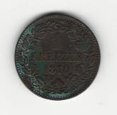 German States: Baden: 1870 Kreuzer