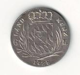 German States: Bavaria: 1828 6 Kreuzer