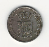 German States: Bavaria: 1848 6 Kreuzer
