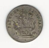 German States: Bavaria: 1755 10 Kreuzer