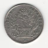 German States: Bavaria: 1781 20 Kreuzer