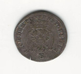 German States: Bradenburg - Ansbach: 1770 2 1/2 Kreuzer VF