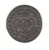 German States: Bradenburg - Ansbach: 1776 2 1/2 Kreuzer VF
