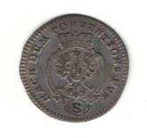 German States: Bradenburg - Ansbach: 1778 2 1/2 Kreuzer EF