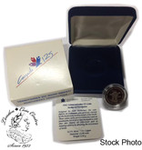 Canada: 1992 25 Cent Northwest Territories Proof Sterling Silver Coin in Clamshell