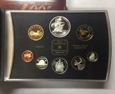 Canada: 2004 French Settlement Double Dollar Set ANA Special Edition