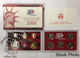 United States: 2001 Silver Proof Set