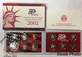 United States: 2002 Silver Proof Set