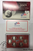 United States: 2009 District of Columbia & U.S. Territories Quarters Silver Proof Set