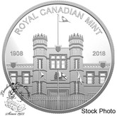 Canada: 2018 RCM Building Medallion from Proof Set Pure Silver