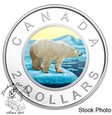 Canada: 2018 $2 Coloured Selective Gold-Plating Pure Silver Coin