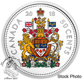 Canada: 2018 50 Cents Coloured Pure Silver Coin