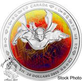 Canada: 2013 $20 Superman™ & Metropolis Silver Hologram Coin