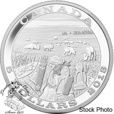Canada: 2013 $5 Tradition of Hunting Bison Pure SIlver Coin