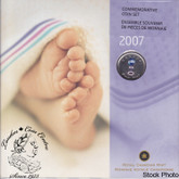 Canada: 2007 Baby Gift Coin Set - Rattle