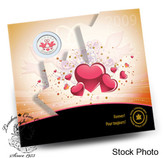 """Canada: 2009 Wedding """"Forever"""" Coin Gift Card"""