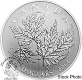 Canada: 2014 $10 Maple Leaf Silver Coin