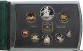 Canada: 2004 French Settlement Double Dollar Set