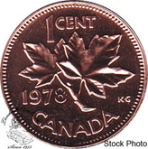 Canada: 1978 1 Cent Proof Like