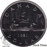 Canada: 1981 $1 Proof Like