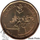 Canada: 2010 $1 Navy BU