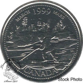 Canada: 1999 25 Cent March Proof Like