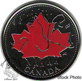 Canada: 2002P 25 Cent Canada Day Proof Like Coloured Coin