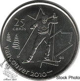 Canada: 2009 25 Cent Cross Country BU