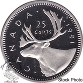 Canada: 1991 25 Cent Proof