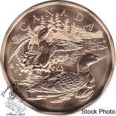 Canada: 2002 $1 Loon Family Loonie Specimen