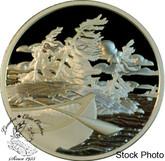 Canada: 2006 $20 National Parks - Georgian Bay Islands Silver Coin