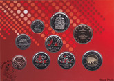 Canada: 2010 Proof Like / Uncirculated Special Edition Olympic Coin Set