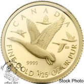 Canada: 2011 50 Cents Geese 1/25 oz Gold Coin